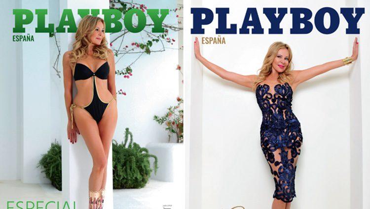 Ana Obregón protagoniza la doble portada de Playboy España/ Fuente: Playboy