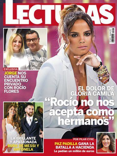 Gloria Camila en la portada de Lecturas
