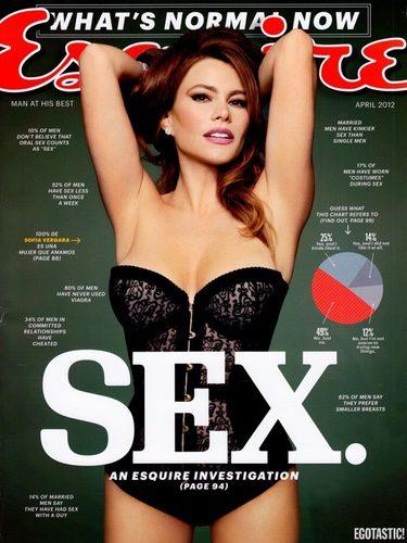 Sofía Vergara de lo más sexy en la portada de 'Esquire' / Fuente: Instagram