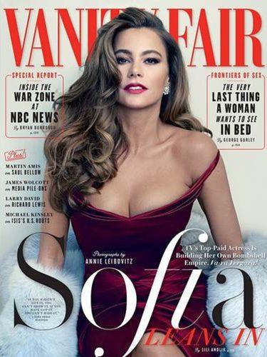 Mítica portada de la actriz para la revista 'Vanity Fair' / Fuente: Vanity Fair.es
