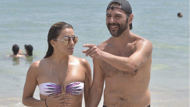 Eva Longoria y José Bastón en Ibiza