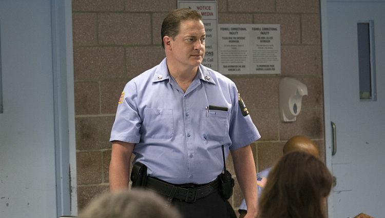 Brendan Fraser, muy cambiado en la serie de televisión 'The Affair'
