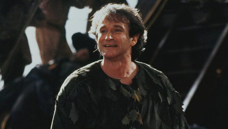 Williams en la piel de Peter Banning en 'Hook'