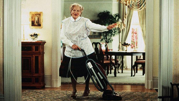 Williams como la Señora Doubtfire