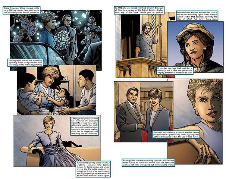 Extracto del libro dedicado a Lady Di