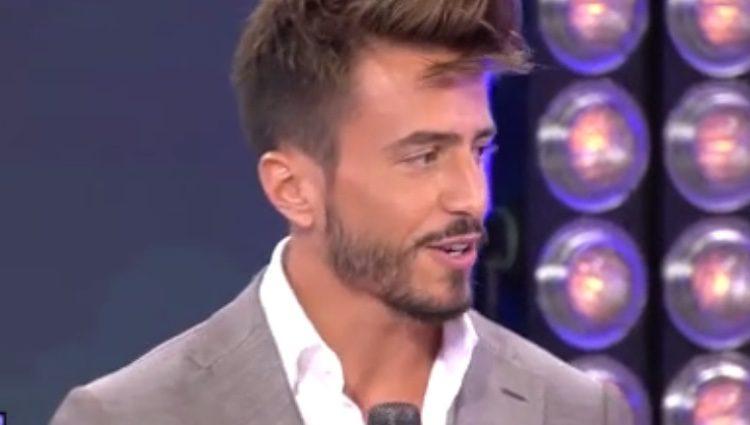 Marco Ferri en el plató de 'Sábado Deluxe'/ Fuente: telecinco.es