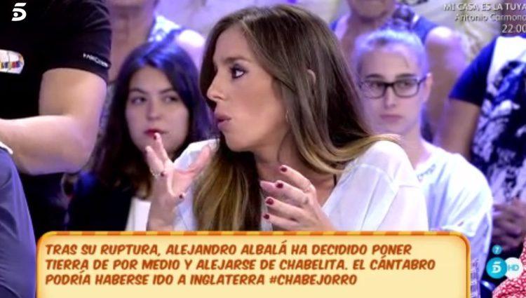 Anabel Pantoja aclarando la ruptura/ Fuente: telecinco.es