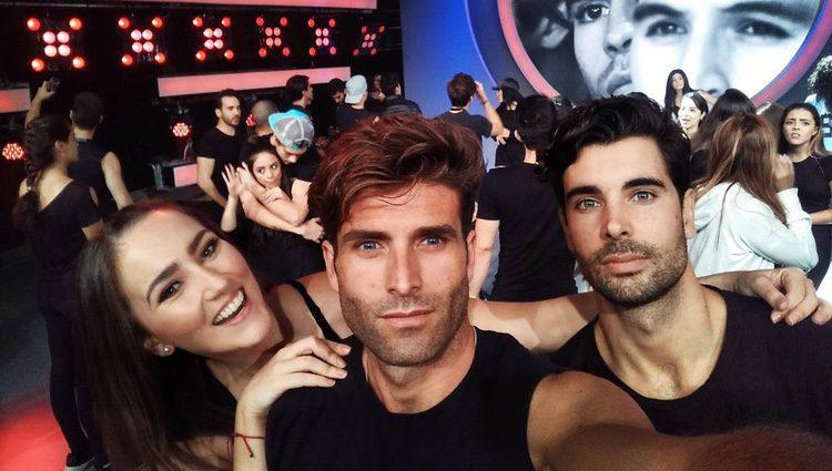 Efrén Reyero con algunos compañeros de Televisa/ Fuente: Instagram