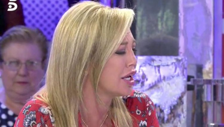 Belén Esteban enfrentada a María de Mora/ Fuente: telecinco.es