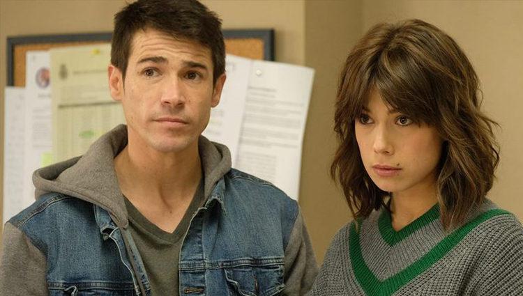 Juanjo Ballesta y Andrea del Río en una escena de 'Servir y proteger'