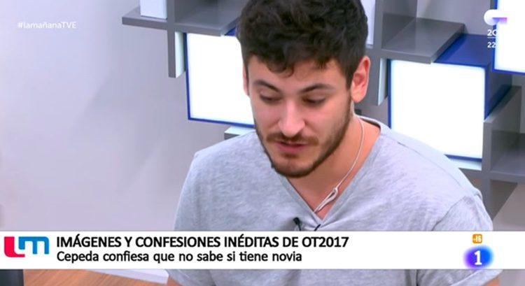 Luis Cepeda se sincera sobre su novia