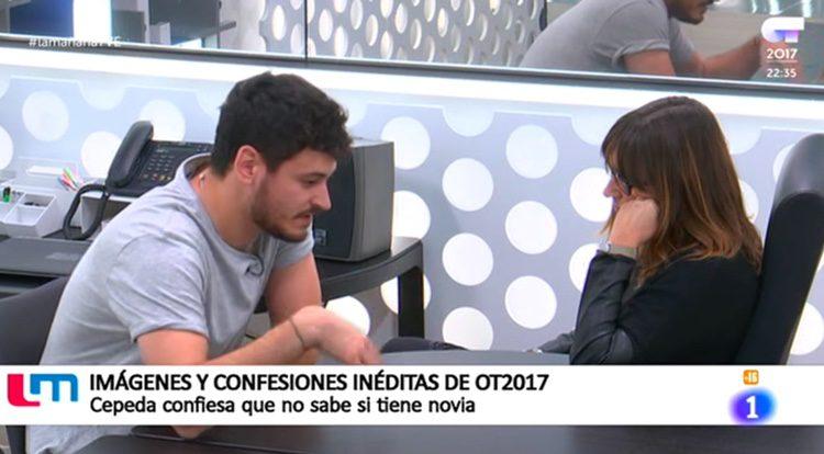 Cepeda se sincera con Noemí Galera en OT
