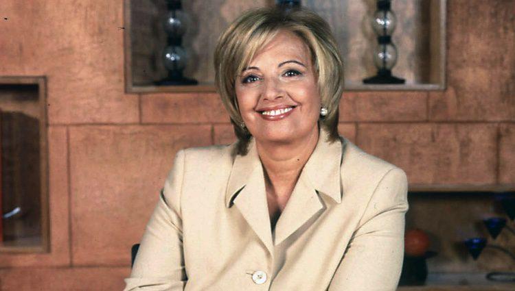 DMª Teresa Campos, presentadora de 'Día a día'
