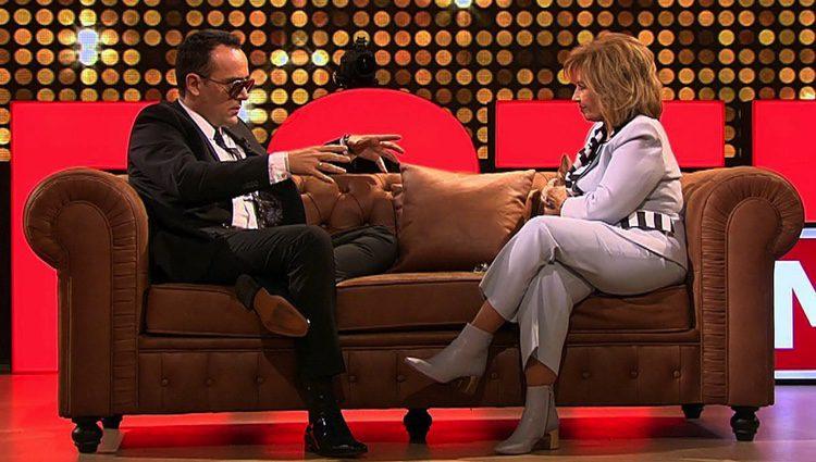 Risto Mejide entrevista a Mª Teresa Campos en 'Chester'