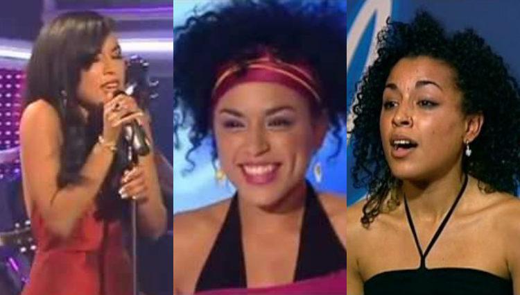 Loreen, entonces Lorén Talhaoui, irreconocible en la edición sueca de 'Idol' en 2004