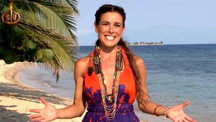 Raquel Sánchez Silva en la isla de 'Supervivientes'