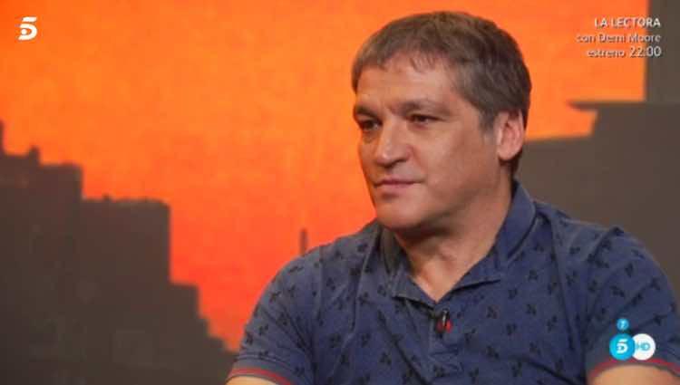 Gustavo González en el avance de su autoentrevista / Telecinco.es
