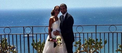 La foto de la boda de Raquel Sánchez Silva y Mario Biondo en la costa este de Sicilia