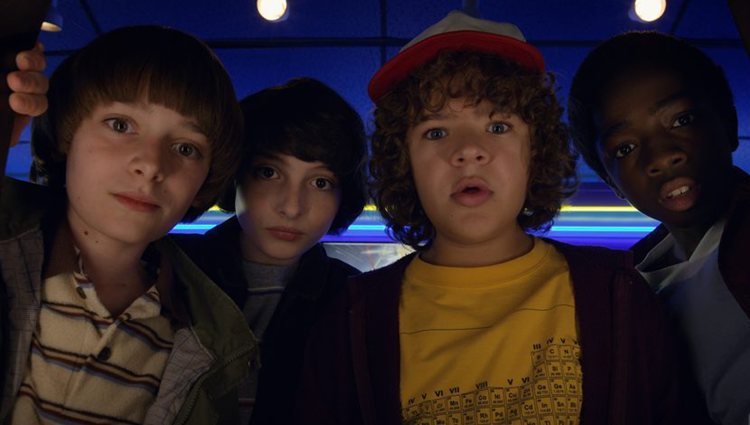 Will, Mike, Dustin y Lucas, los niños de 'Stranger Things'
