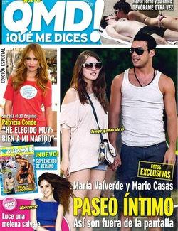 Mario Casas y María Valverde, romántico paseo por Madrid para celebrar el éxito de 'Tengo ganas de ti'