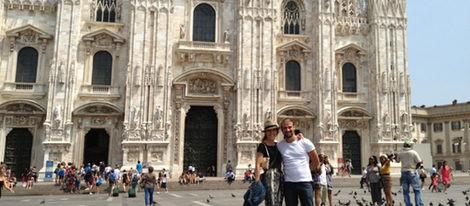 Raquel Sánchez Silva y Mario Biondo disfruran de su luna de miel en Milán