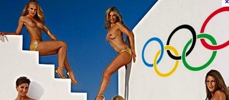 Portada de Playboy con las deportistas al desnudo