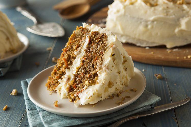 Una tarta de zanahoria bien hecha es deliciosa
