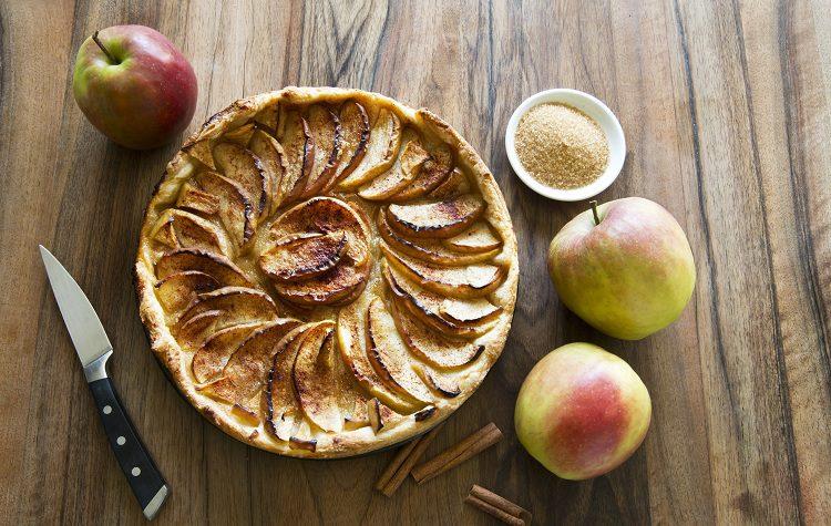 La tarta de manzana es un postre clásico