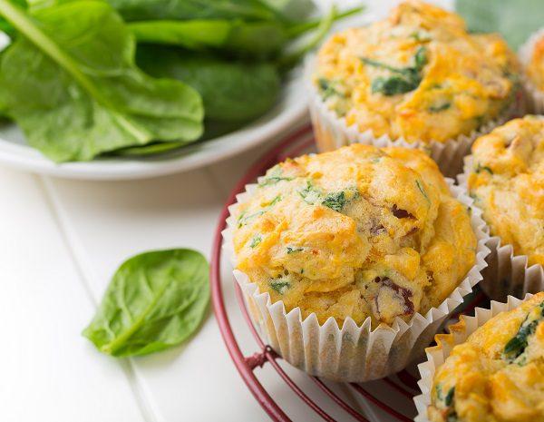 Los muffins tradicionalmente son dulces realizados con huevo