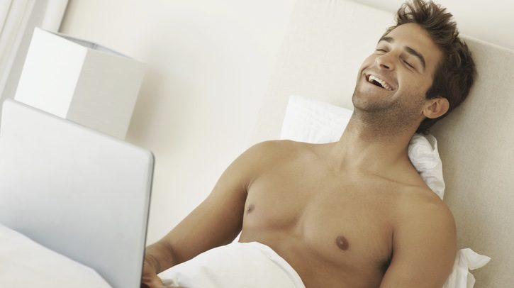 Cibersexo con un no tan extraño
