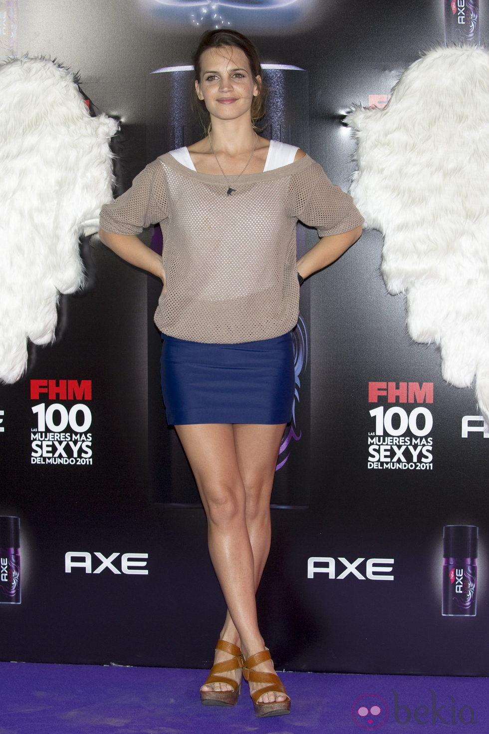 Sabrina Garciarena en los Premios FHM: Póker de bellezas en los ...