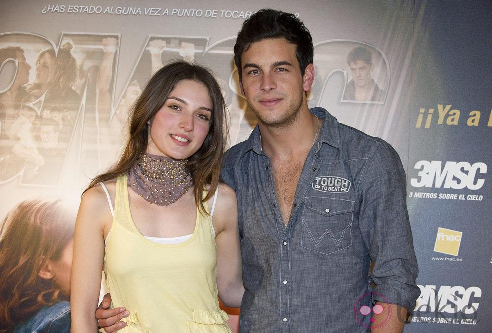 La pareja de actores Mario Casas y María Valverde. (Gtres)