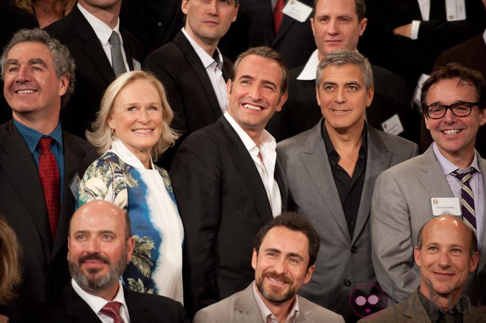 Stan Chervin, Glenn Close, Jean Dujardin, George Clooney y ...