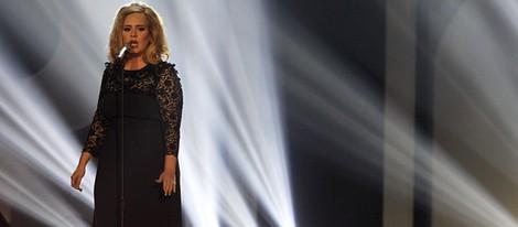 Actuación de Adele en los premios Brit 2012
