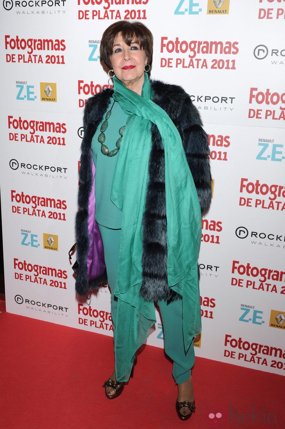 Concha Velasco En Los Fotogramas De Plata 2011: Fotos En Bekia