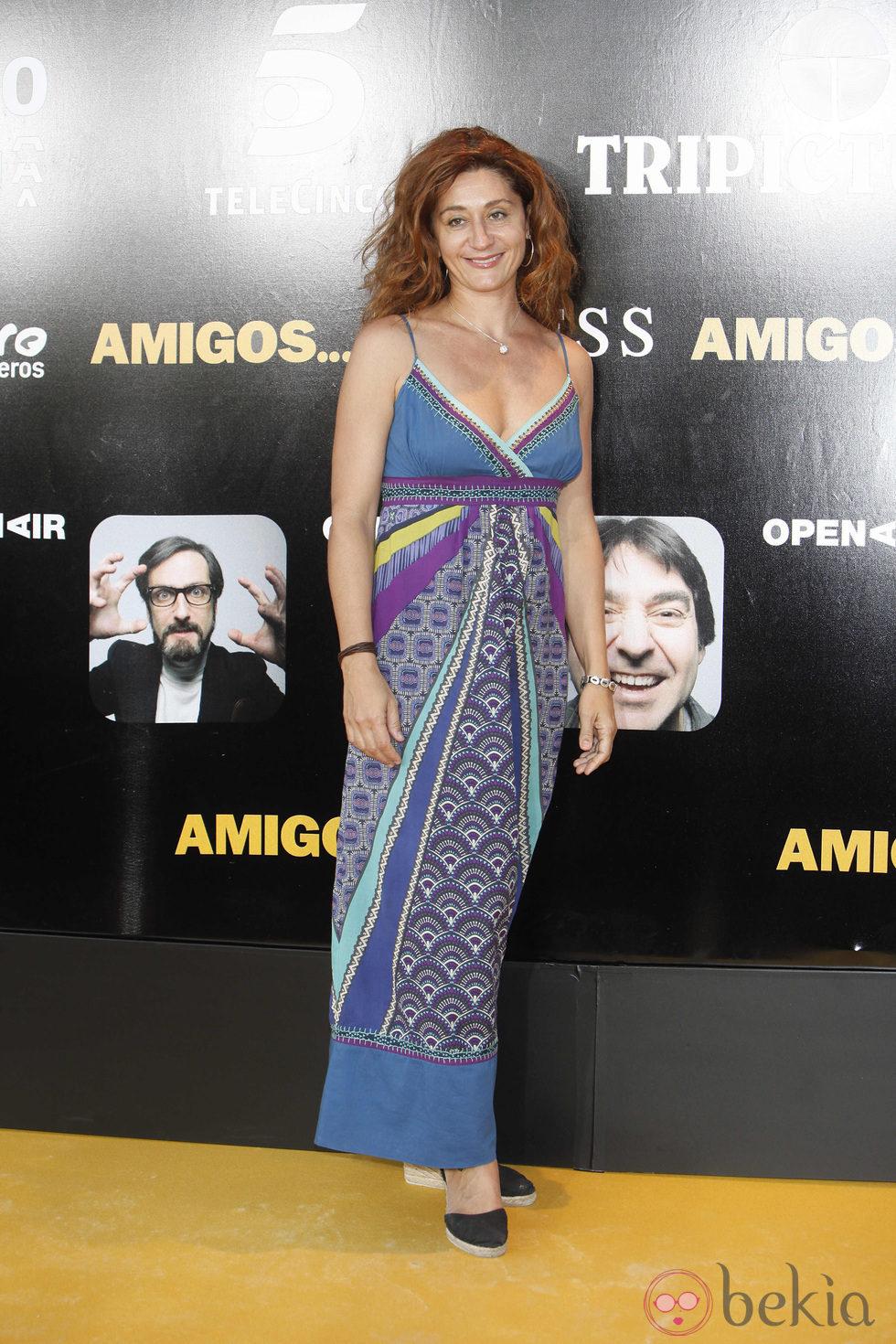 Chiqui Fernández en el estreno de 'Amigos'