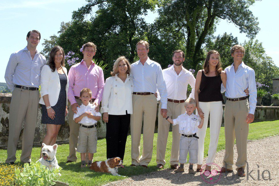 fotos de la familia real: