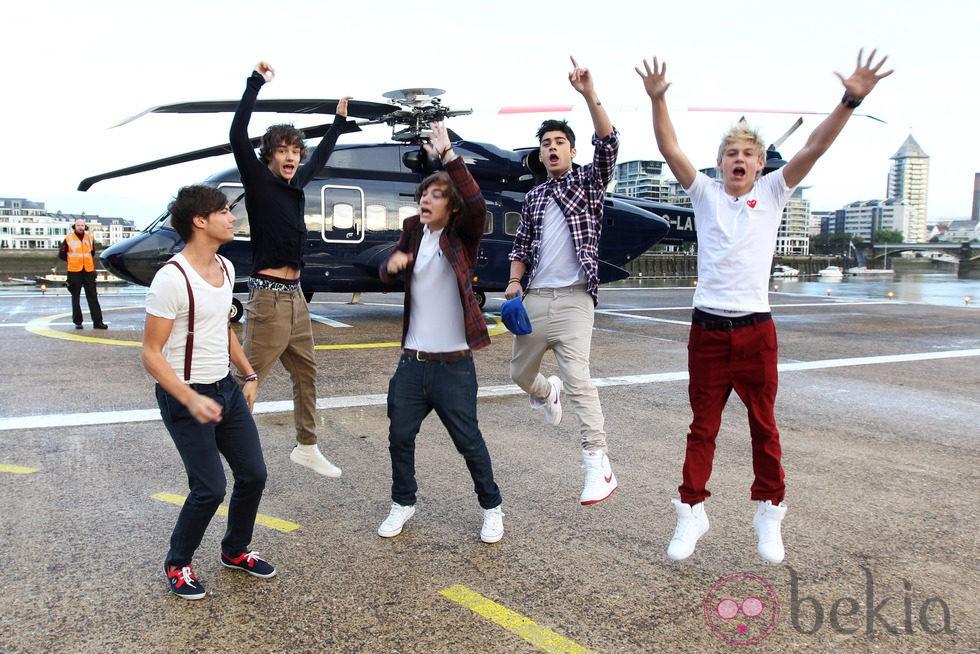 One Direction por las nubes