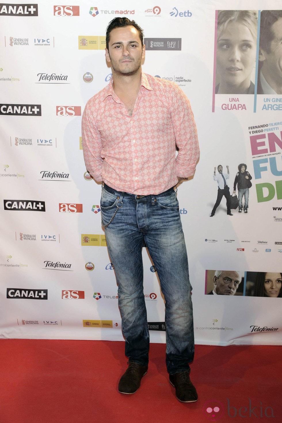 Asier etxeandia en el estreno de la pel cula 39 en fuera de for En fuera de juego online