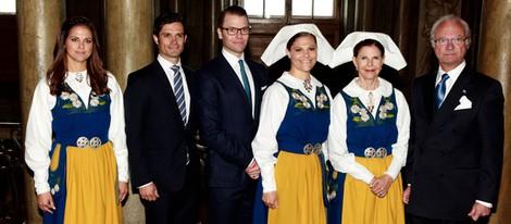 La Familia Real Sueca celebra el Día Nacional de Suecia 2012