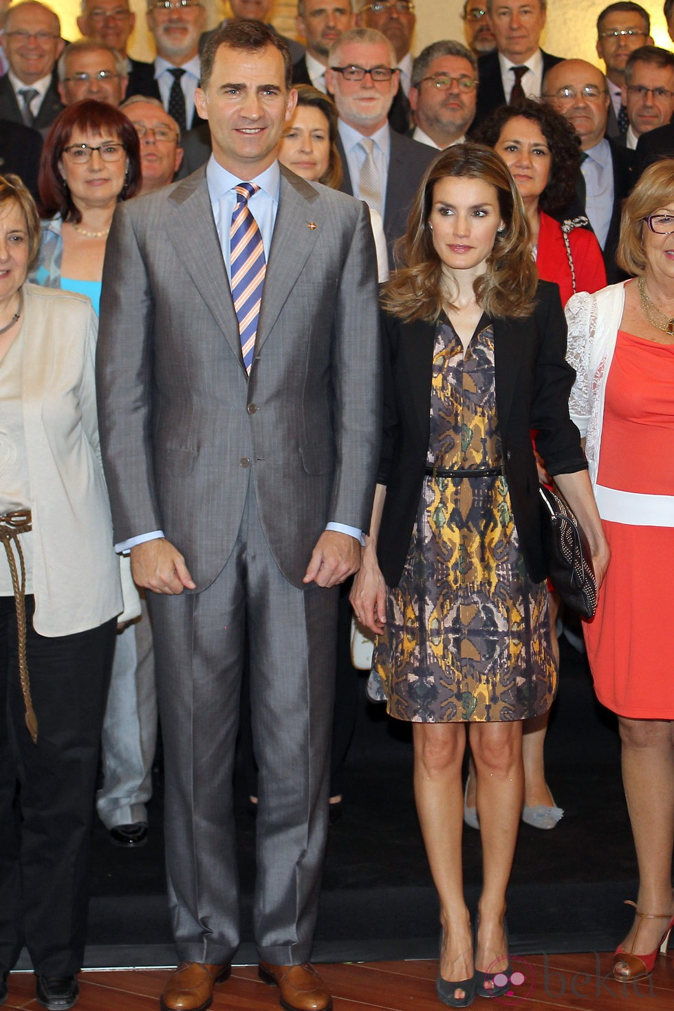 Príncipes de Asturias: visita de 2 días a Girona 24016_principes-asturias-almuerzo-trabajo-girona
