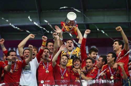 España, Campeona de Europa 2012