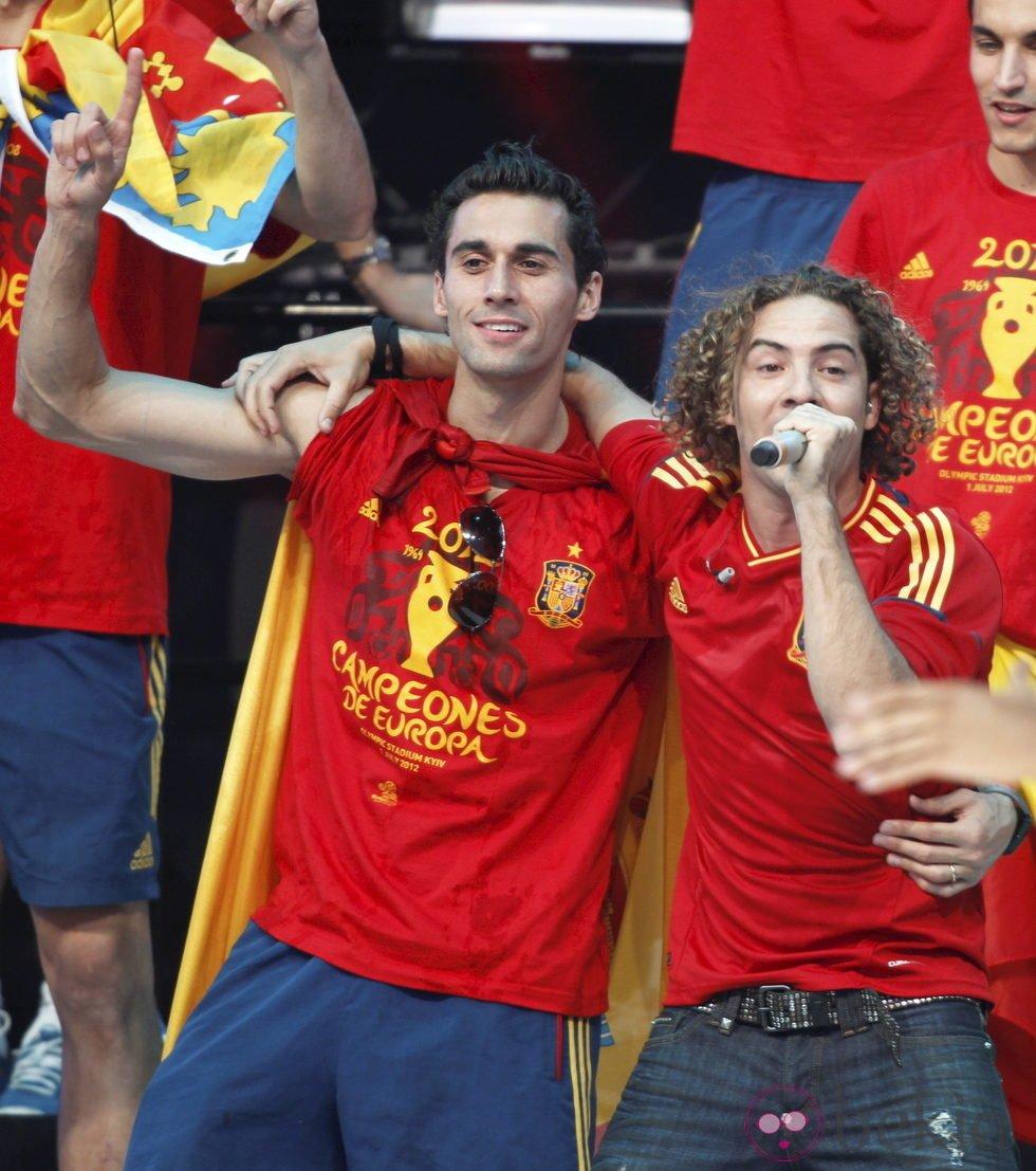 Eurocopa 2012  24313_david-bisbal-albeloa-concierto-cibeles-triunfo-espana