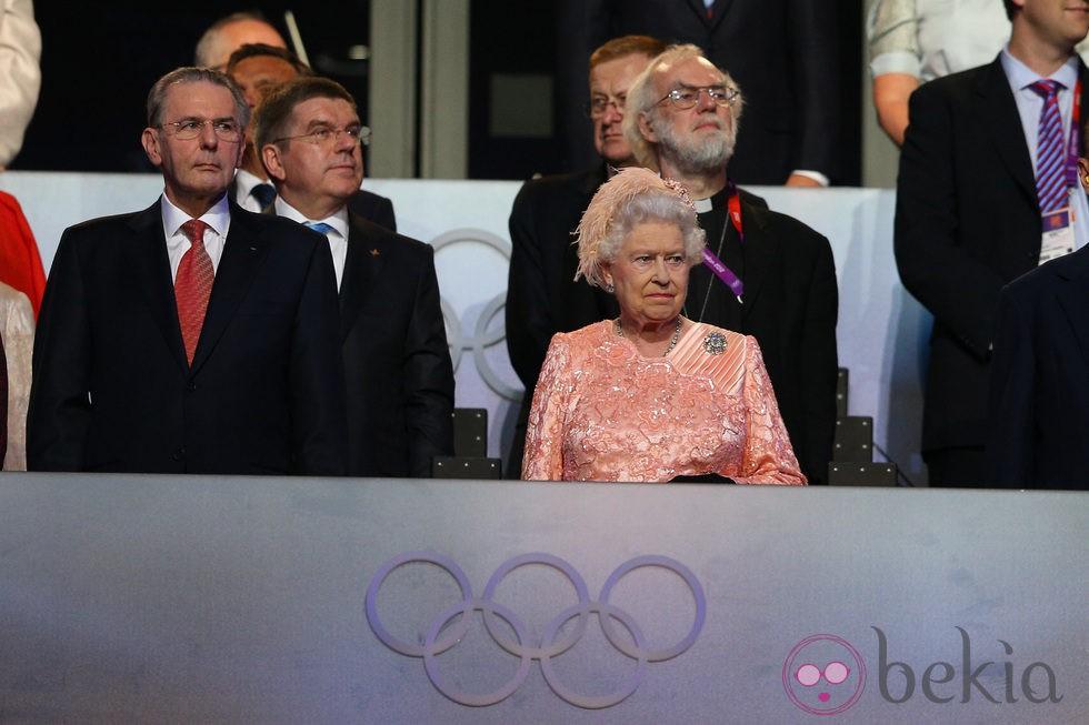 Isabel II En La Ceremonia De Inauguraci  N De Los Juegos Ol  Mpicos