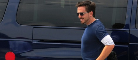 Robert Downey Jr. en el rodaje de 'Iron Man 3'