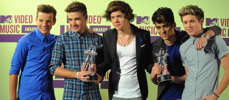 One Direction en los MTV Video Music Awards 2012