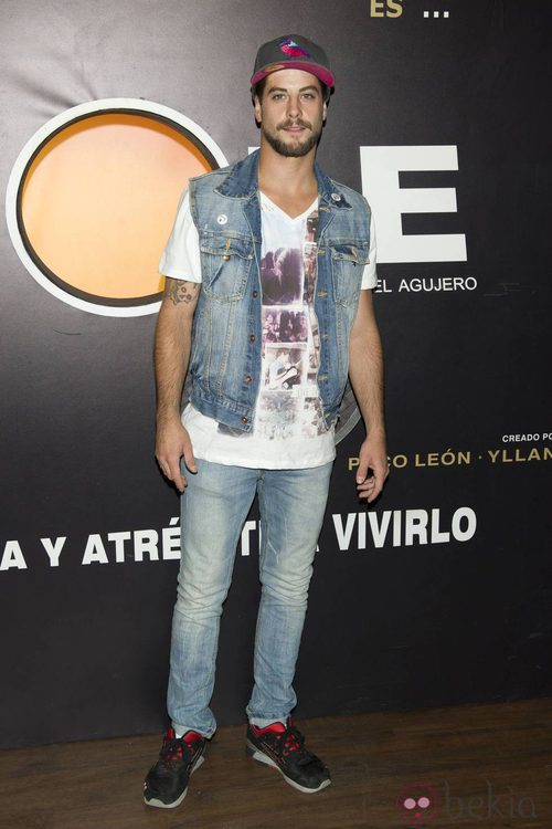 Luis Fernández en el estreno de la nueva temporada de 'The Hole'