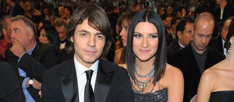 Laura Pausini y su novio Paolo Carta