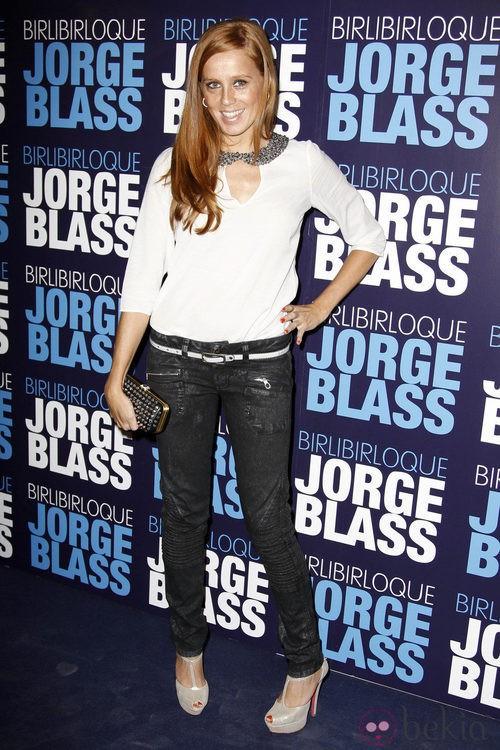 María Castro en la presentación del espectáculo 'Birlibirloque'