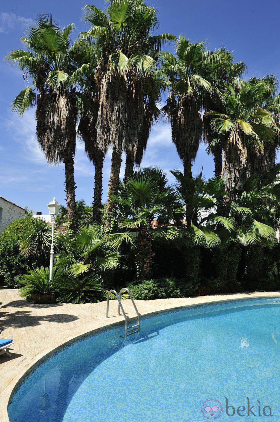 La piscina y el jard n de la casa del programa de mtv - La casa del pintor gandia ...